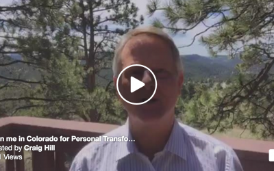 Join me in Colorado in July for School of Ministry & Personal Transformation