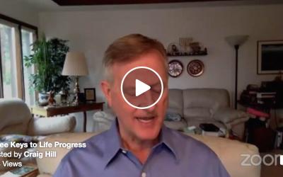 Three Keys to Life Progress