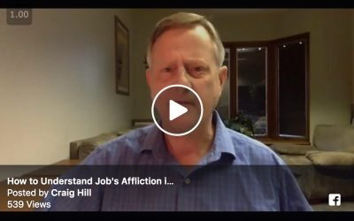 How to Understand Job's Affliction in Light of Covenant